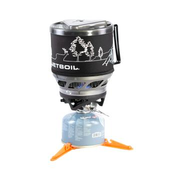 Jetboil Minimo Cooking System With Line Art -  Carbon
