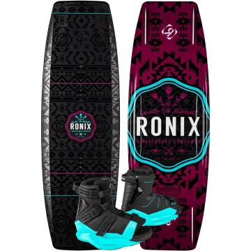 Ronix Quarter Til Midnight 134 Board With Ronix Halo Boot
