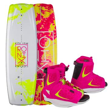 Ronix 2015 Women's Krush Wakeboard + Luxe Boots Package
