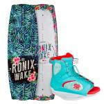 Ronix Women's Krush 128 Wakeboard + Ronix Luxe Boot