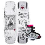 Ronix Women's Quarter 'Til Midnight Wakeboard + Halo Boot Package