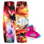 Ronix Women's Krush Wakeboard + Luxe Boot Package