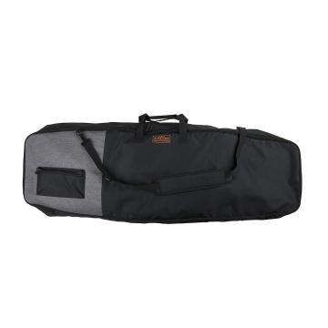 Ronix Collateral Non-Padded Board Bag - HeatherCharcoal/Orange