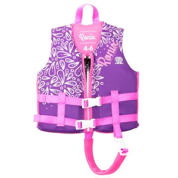 Ronix Kids August L50S Vest With Collar - Blue/Pink