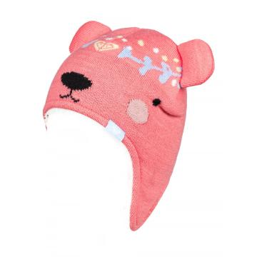 Roxy Girl's Bear Teenie Beanie - Shell Pink