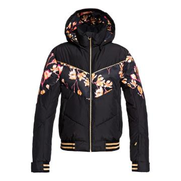 Roxy 2020 Women'sTorah Bright Summit Jacket - True Black Magnolia