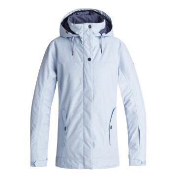 Roxy 2019 Women's Billie Jacket - Powder Blue