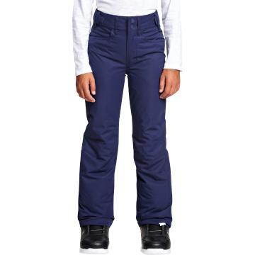 Roxy 2020 Girls' Backyard Pants - Medieval Blue