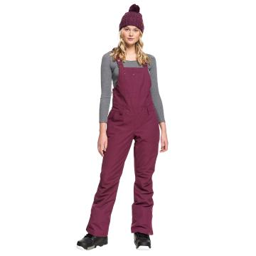 Roxy Women's Rideout Bib Pants - Grape Wine
