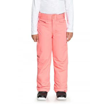 Roxy Girl's Backyard Girl Pants - Shell Pink