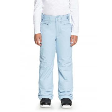 Roxy Girl's Backyard Girl Pants - Powder Blue