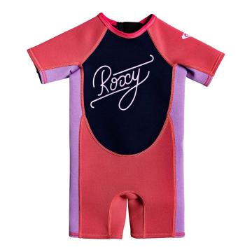 Roxy Toddlers 1.5 Syncro Short Sleeve Spring - Scarlet/Hyacinth