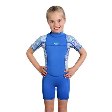 Roxy Girl's Syncro 2mm Spring Suit - 2/6 Years