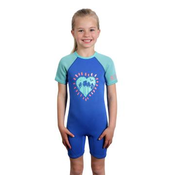 Roxy Toddler's 1.5mm Syncro Spring Suit - 2/4 Years - Sea Blue II
