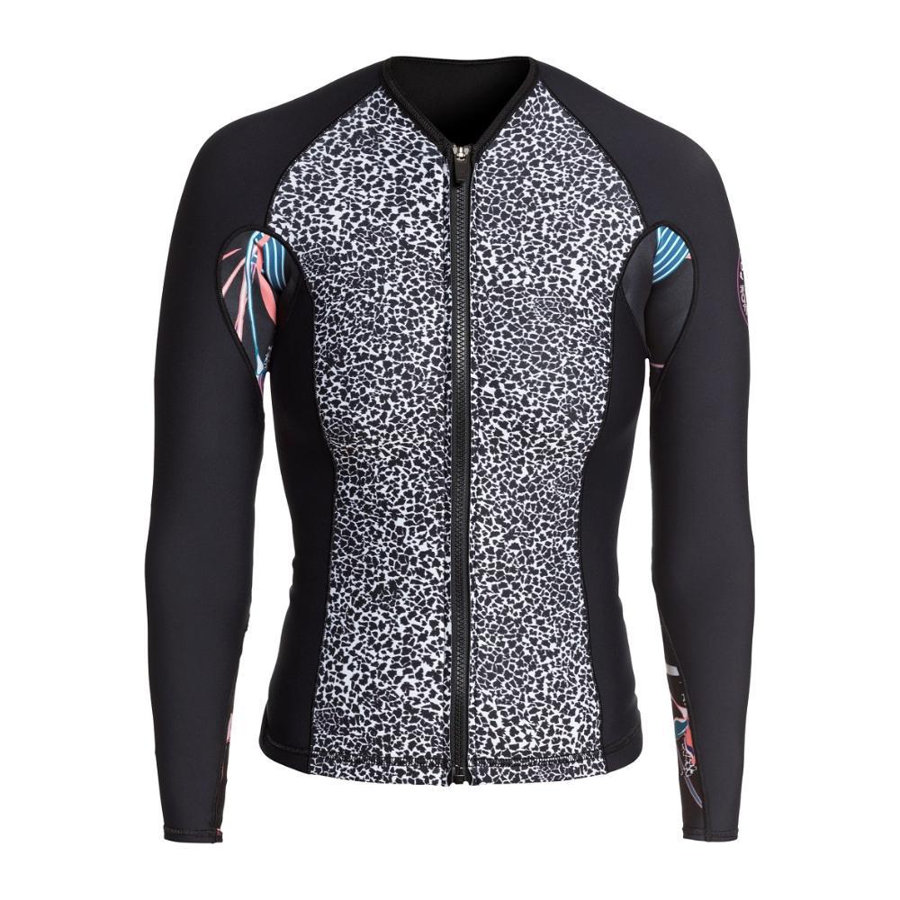 2021 Women's 1.0 Popsurf Full Zip Long Sleeve - Black