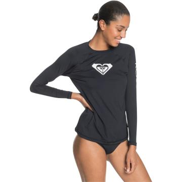 Roxy 2021 Women's Beach Classics Long Sleeve Lycra - Black - Black