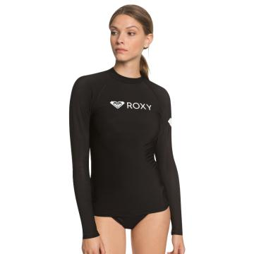 Roxy 2021 Women's Heater Long Sleeve - Black - Black