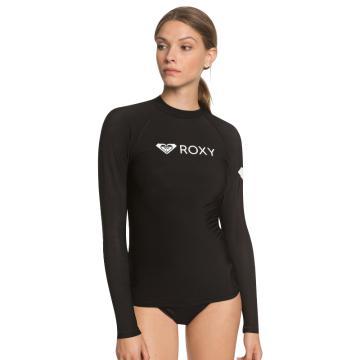 Roxy 2021 Women's Heater Long Sleeve - Black - Black