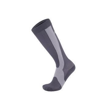 Sox7 Compression Socks - Grey/Black
