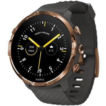 Suunto 7 Watch with Google Wear OS - Graphite Copper