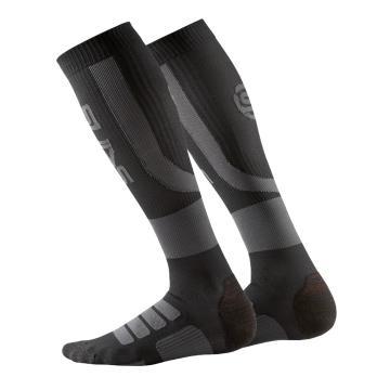 Skins Men's Essentials Active Compression Socks - Black/Charcoal
