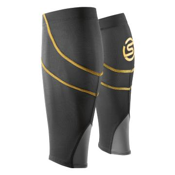 Skins Unisex Essentials Compression Calf Tights MX - Black Yellow