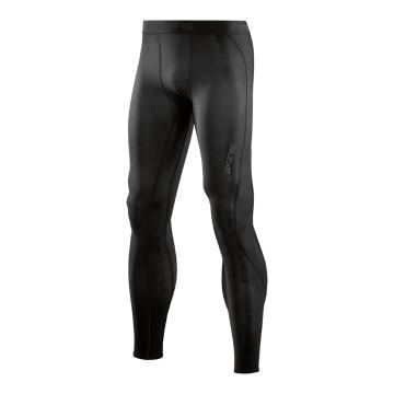 Skins Men's Core Long Tights - Black/Black