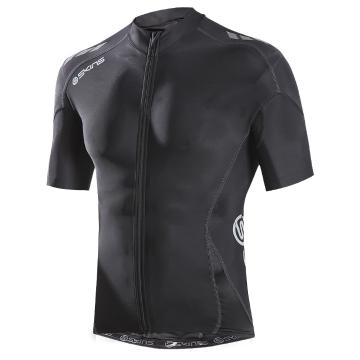Skins Men's C400 Compression Short Sleeve Cycle Jersey