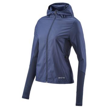 Skins Women's Gylle Engineered Wind Jacket - Navy Blue