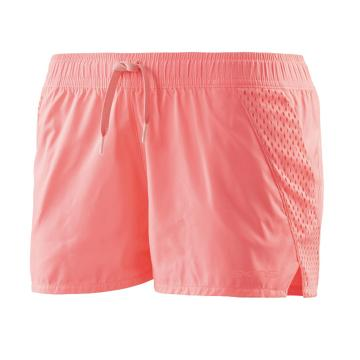 Skins Women's Cone Running Shorts - Fluro Peach