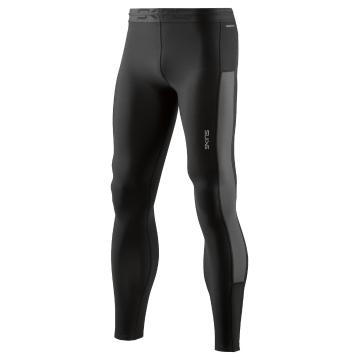 Skins Men's Thermal Long Tights - Black/Charcoal