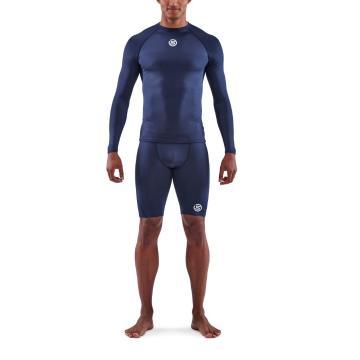 Skins Men's 1-Series Long Sleeve Top  - Navy