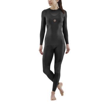 Skins Women's 5-Series Long Sleeve Top - Black