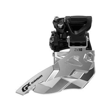 SRAM GX 10-speed Front Derailleur - High Clamp Top Pull