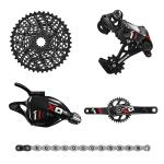 SRAM X01 Group GXP RED 175mm/32T (no BB)