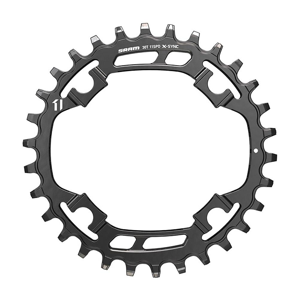 X-SYNC Steel Chainring 11sp 94 - Black 30T