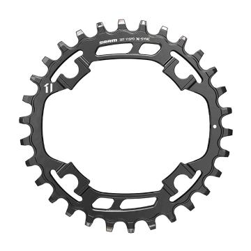 SRAM X-SYNC Steel Chainring 11sp 94 - Black 30T