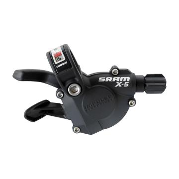 SRAM Shifter X5 Trigger 9sp Rear - Black