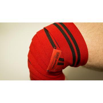 SBD Knee Wraps Training (Pair) - Black/Red