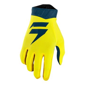 Shift 2019 Whit3 Air Glove - Yellow/Navy
