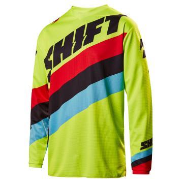 Shift 2017 WHIT3 Label Tarmac Jersey - Fluro Yellow