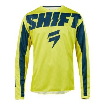 Shift 2019 Whit3 York Jersey - Yellow/Navy