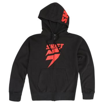 Shift Corp Hoodie - Black/Red