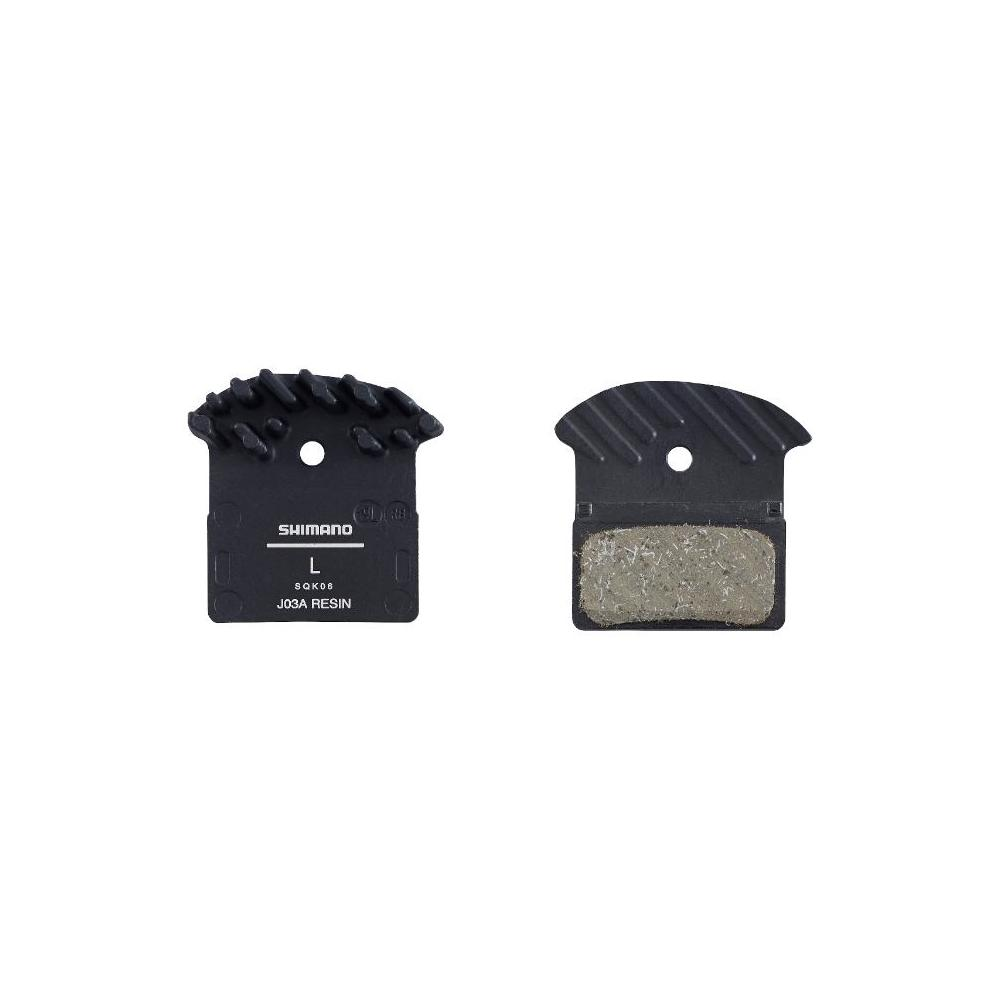BR-M9000 J03A Resin Brake Pad with Fin