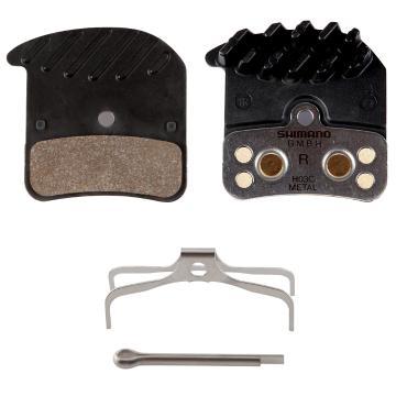 Shimano H03C Metal Finned Brake Pads BR-M820