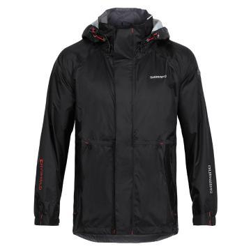 Shimano Dry Shield Basic Rain Jacket - Black