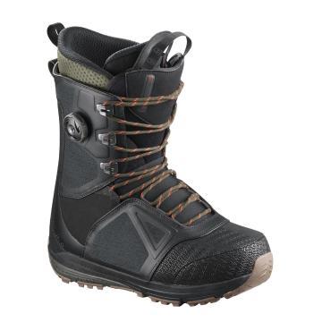 Salomon   Mens Lo Fi Snowboard Boots - Black
