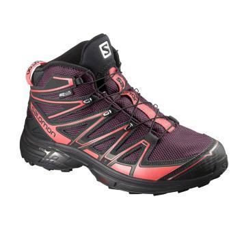 Salomon Women's X-Chase Mid Height Waterproof Boots