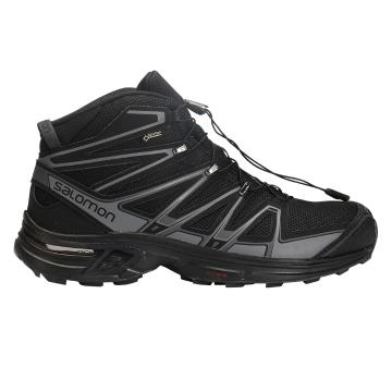 Salomon Men's X-Chase Mid GTX Hiking Boots - Black/Magnet