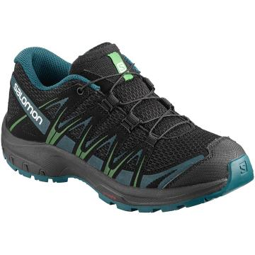 Salomon Kids XA PRO 3D - Black/Deep Lagoon/O.Lime